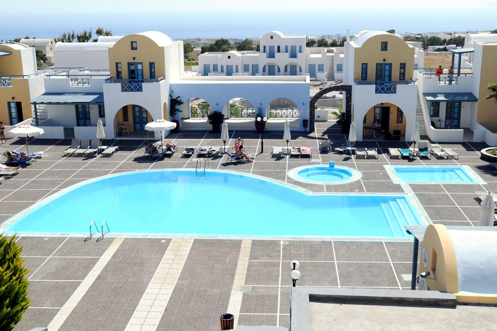 Hôtel El Greco 4* sup - arrivée Santorin - 1